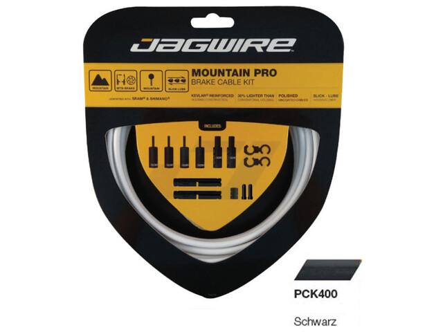 Jagwire Mountain Pro Remkabel Set, black